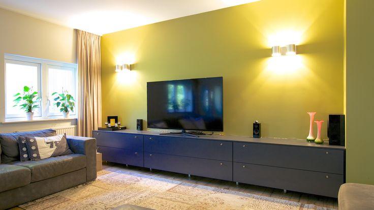 Op maat gemaakte TV-ruimte