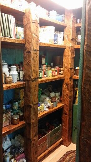 Rustic Kitchen Shelving Ideas