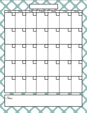 Best 20+ Blank Calendar Pages Ideas On Pinterest | Free Blank