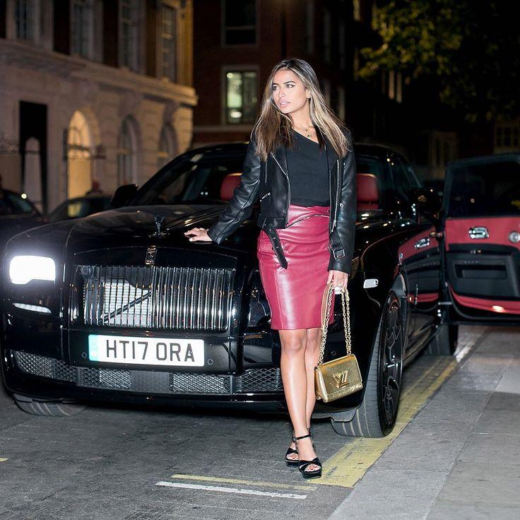 Exuding confidence, fashionista @lama.alakeel matches her London style with Ghost Black Badge. #RRFashionInspirations2017