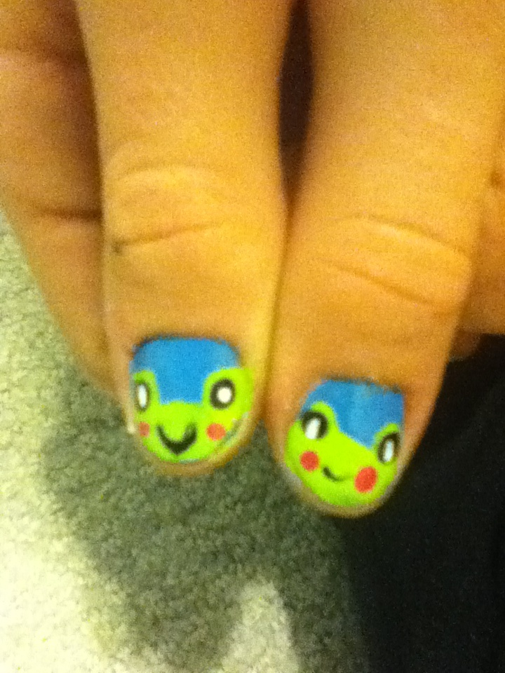 137 best frog nails images on pinterest nail nail enamels and frog nails prinsesfo Choice Image