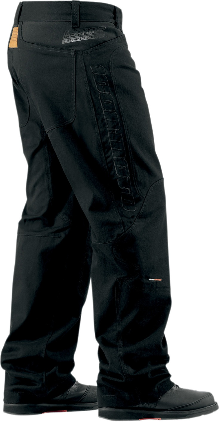 Icon justice leather motorcycle gloves - Insulated Canvas Pant Products Ride Icon