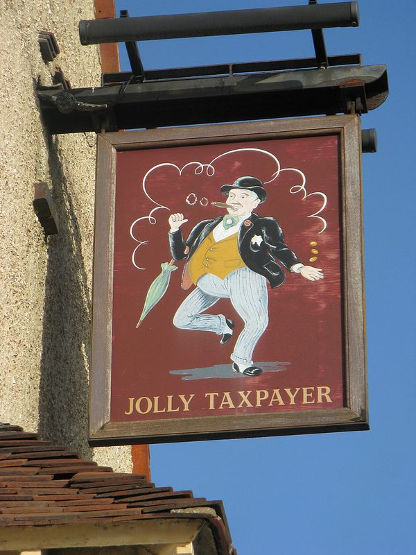 """The Jolly Taxpayer, Portsmouth. According to the local area guide, The Jolly Taxpayer boasts """"three dartboards - all of which are used! A pool table and television can also be found here."""""""