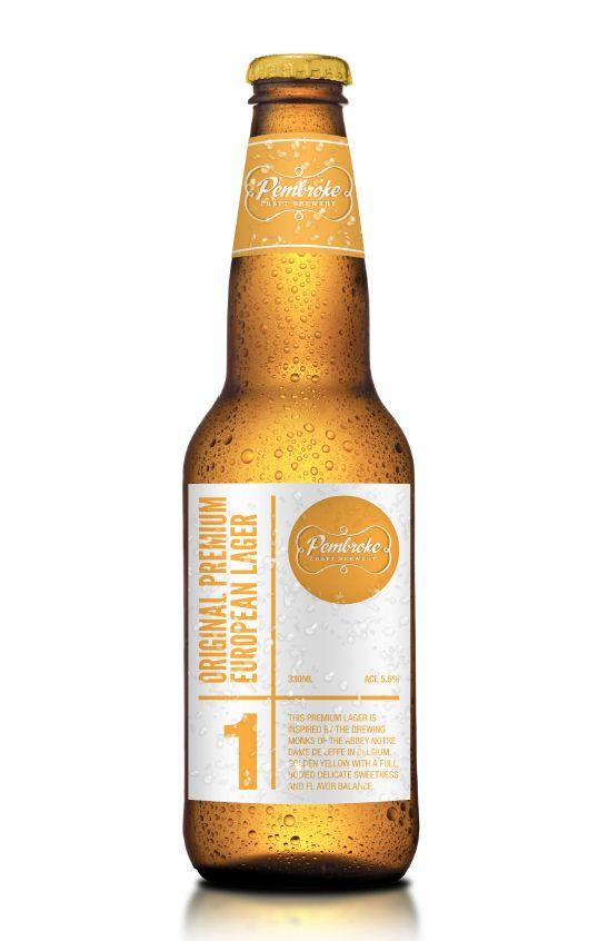 Pembroke Craft Brewery - Designed by Gary Head Design