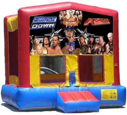 WWE/ Wrestling Themed Bouncer cakepins.com