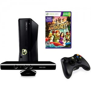 Xbox 360 4GB Console with Kinect, now $249.96