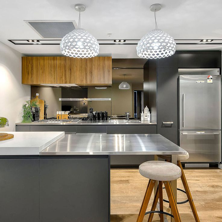 how to make a stainless steel countertop