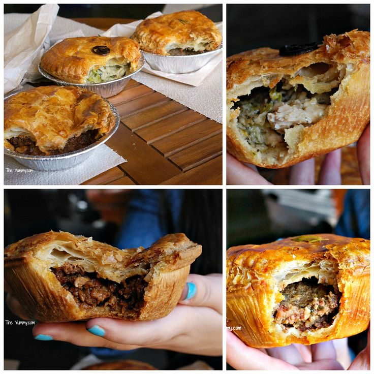 Aussie Meat Pies at Pie-Not,  Costa Mesa, CA