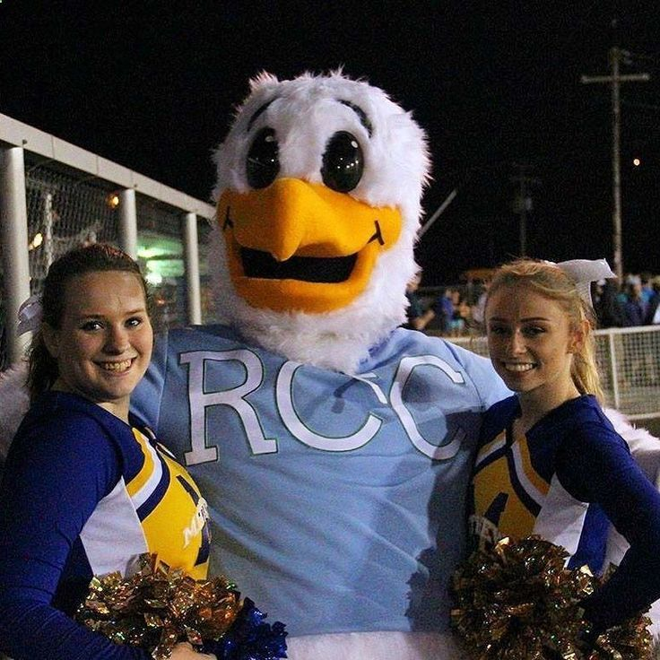 Scenes from Squall's appearance at Mathews High School as a part of his annual football tour! #mathews #middlesex #virginia #football #cheerleaders #seagull #rappahannock #community #college #midpenva #middlepeninsula