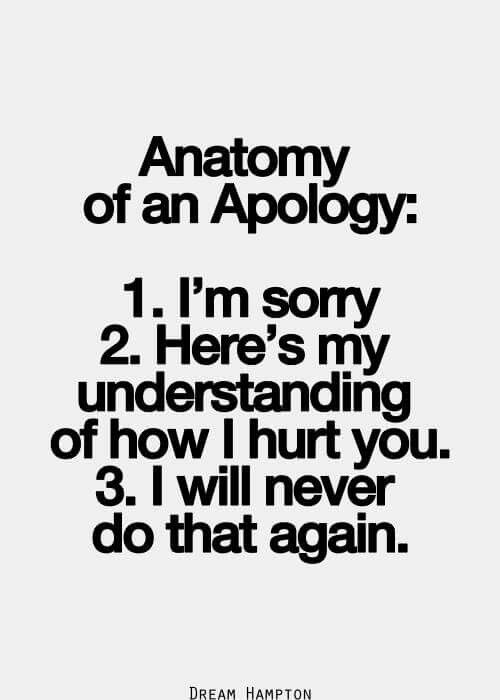 21 best apology and love images on Pinterest Proverbs quotes - humble apology letter