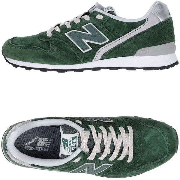 New Balance Low-tops & Sneakers ($100) ❤ liked on Polyvore featuring shoes, sneakers, green, new balance sneakers, rubber sole shoes, animal print shoes, green sneakers and new balance trainers