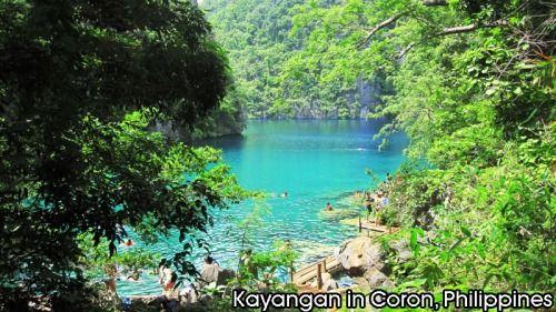 Kyangan in Coron, Philippines.