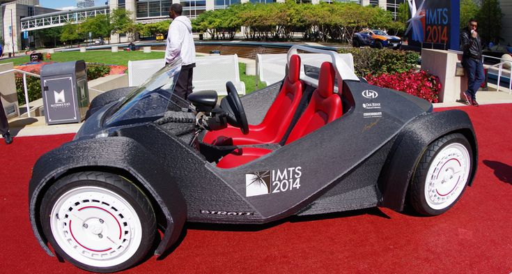 3-D printers are making cars!
