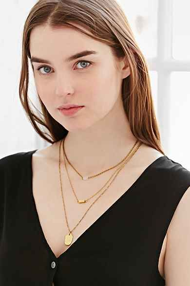 For Keeps Crystal Layering Necklace