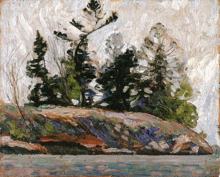 The Athenaeum - Spring, French River (Tom Thomson - )