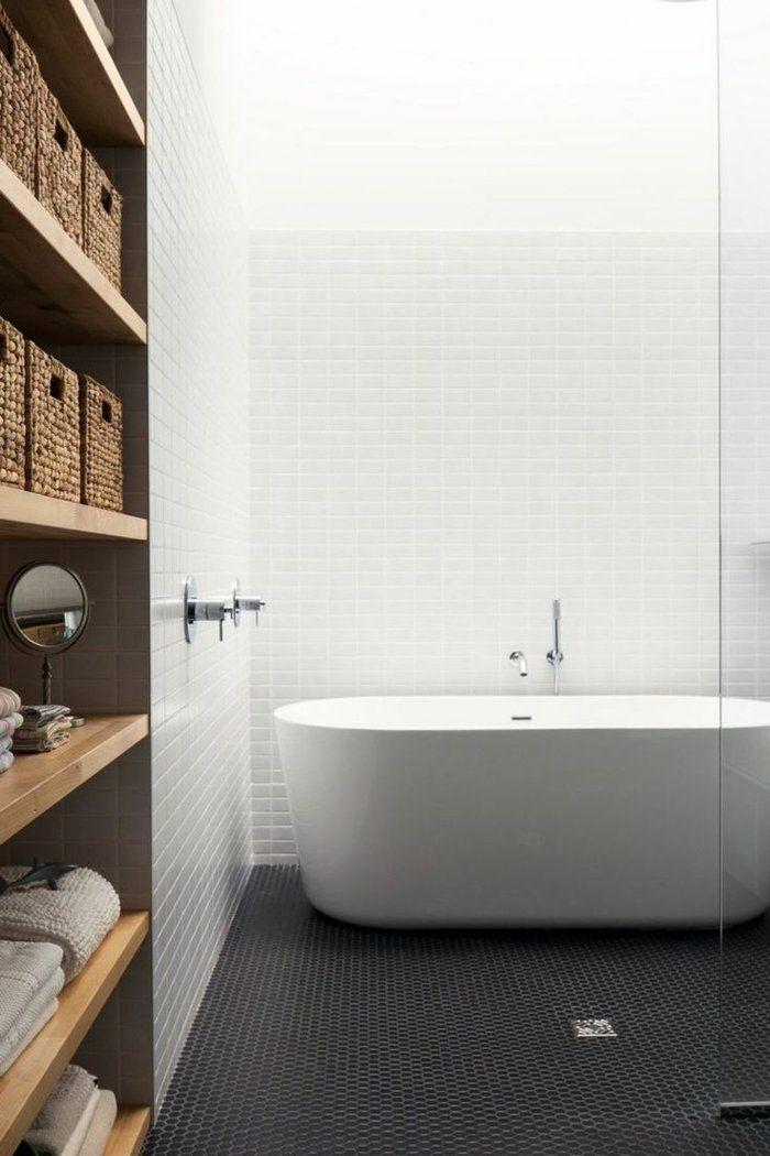 die besten 25 schwarzen fliesen badezimmer ideen auf pinterest wei geflieste b der u bahn. Black Bedroom Furniture Sets. Home Design Ideas