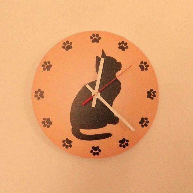 Macskás falióra, Macskás falióra, Falra-való
