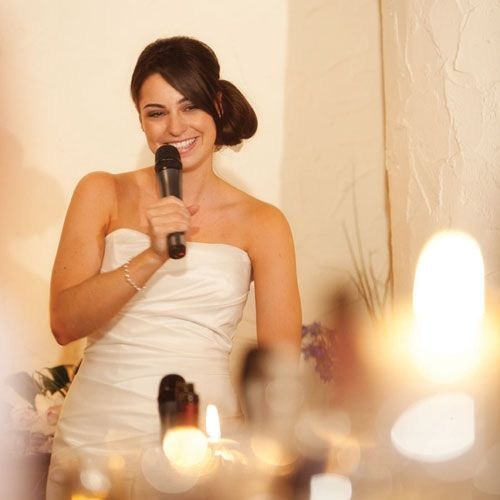 """To nail that perfect speech, as a bride you need to gather the most amazing tips on #WeddingSpeeches For Bride. Imagine this – You and your groom have finally exchanged the """"I Do's!"""" and you'll are married. Its time to make that big speech. As the bride you don't want to give a long drawn out speech that will have guests distracted and bored; you want to get straight to it by engaging everyone from start to finish."""