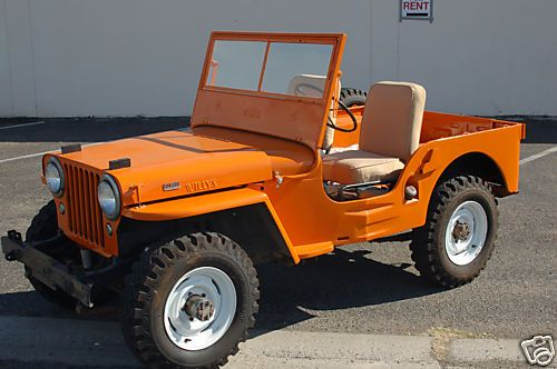 1946 Willys CJ - these older ones are my favorite Jeeps.