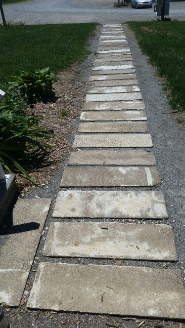 I Made This Walkway Out Of Silo Staves Free Diy Project