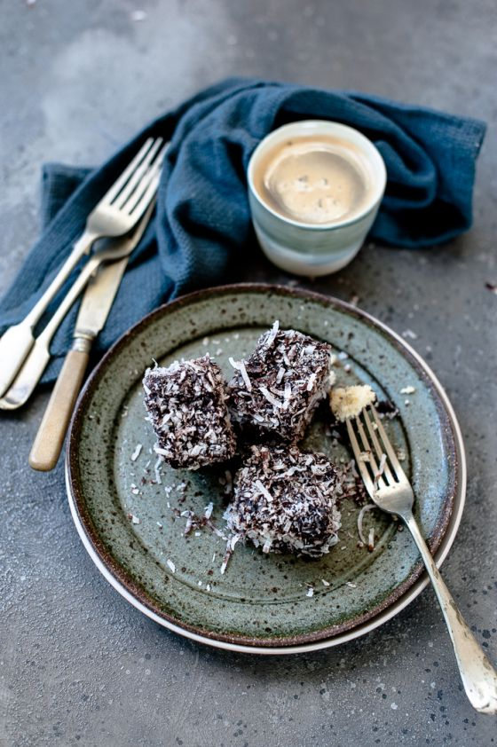 Chocolate Lamington recipe (gluten free and Dairy free)