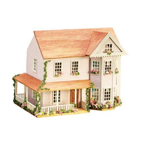 17 best images about doll houses on pinterest miniature for Victorian kit homes