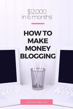 Do you want to know how to make money blogging? Would you like to make money online and be location independent? Do you dream of being successful on the internet? Do you want a job you can do from home? Then you're in luck because I've got lots of tips for you!  In this post I will show you how to make money from a blog, regardless of whether you have a travel blog, fashion blog, lifestyle blog, food blog or any other kind.