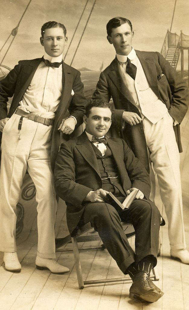 Three smart gentlemen pose for a photograph | by lovedaylemon                                                                                                                                                                                 More