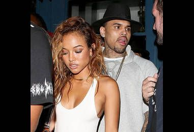 Chris Brown Served With Karrueche Tran's TRO Papers