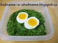 Dobroty od Adele :): Zelená bramborová kaše s vejcem (275 kcal)