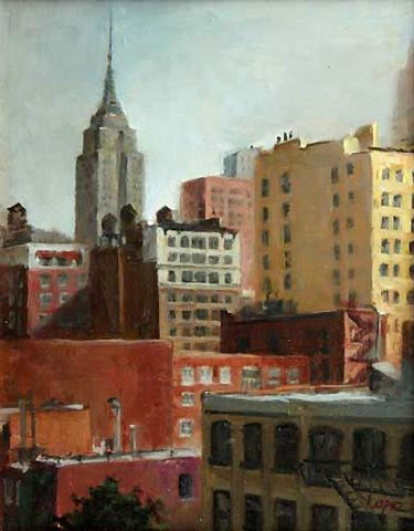 Leah Lopez :: Paintings :: Chelsea View