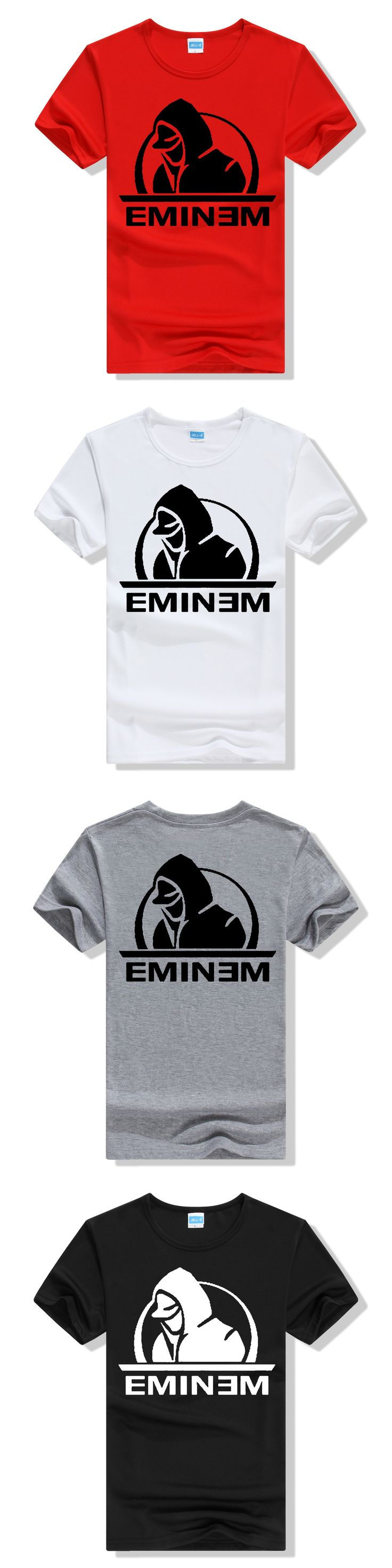 EMINEM The Marshall Mathers LP Men's T-Shirt summer hip hop fitness mma tshirt homme New Cotton Leisure fashion brand T-Shirt