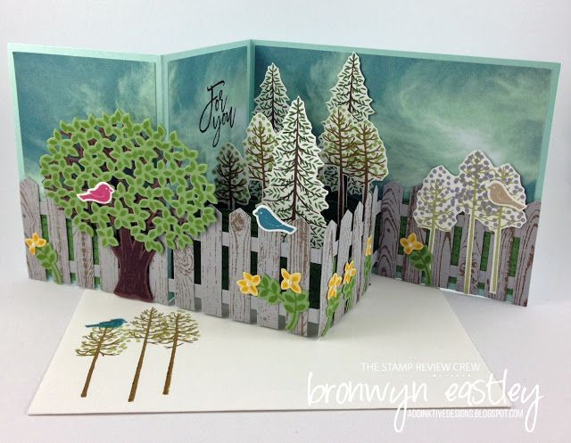 addINKtive designs: The Stamp Review Crew - Thoughtful Branches Pop up z fold