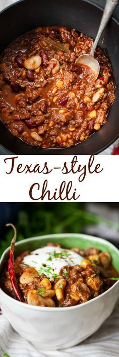 This Texas-style chilli is warm and comforting and so GOOD for you!