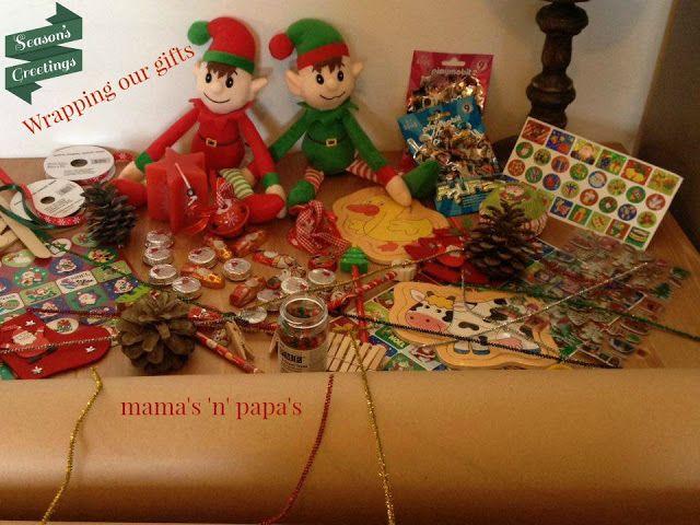 Advent Calendar! Christmas Countdown! mama's 'n' papa's: Our Christmas advent calendar!!