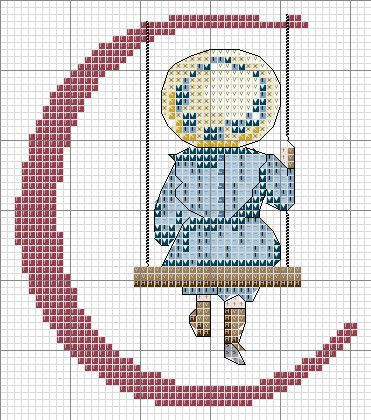 All Our Yesterday's Cross Stitch Chart - C