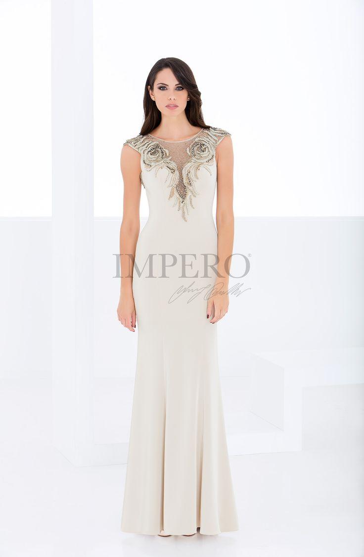 MS 150100 #abiti #dress #wedding #matrimonio #cerimonia #party #event #damigelle #beige
