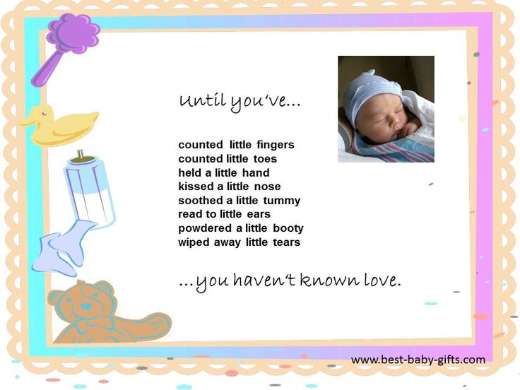 Until you've...you haven't known love | baby quotes ...