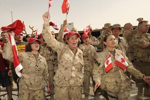 Canadian Troops in Kandahar - Afghanistan