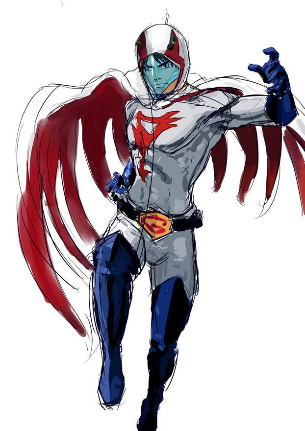 G Force Anime Characters : Best gatchaman g force images on pinterest strength