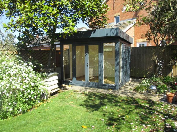 Salthouse Garden Studio With Heavy Duty Felt Roof This 2.4 X 3.0m Salthouse  Studio Has