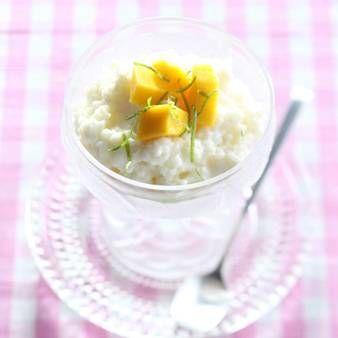Kokos Rijst Dessert Met Mango recept | Smulweb.nl