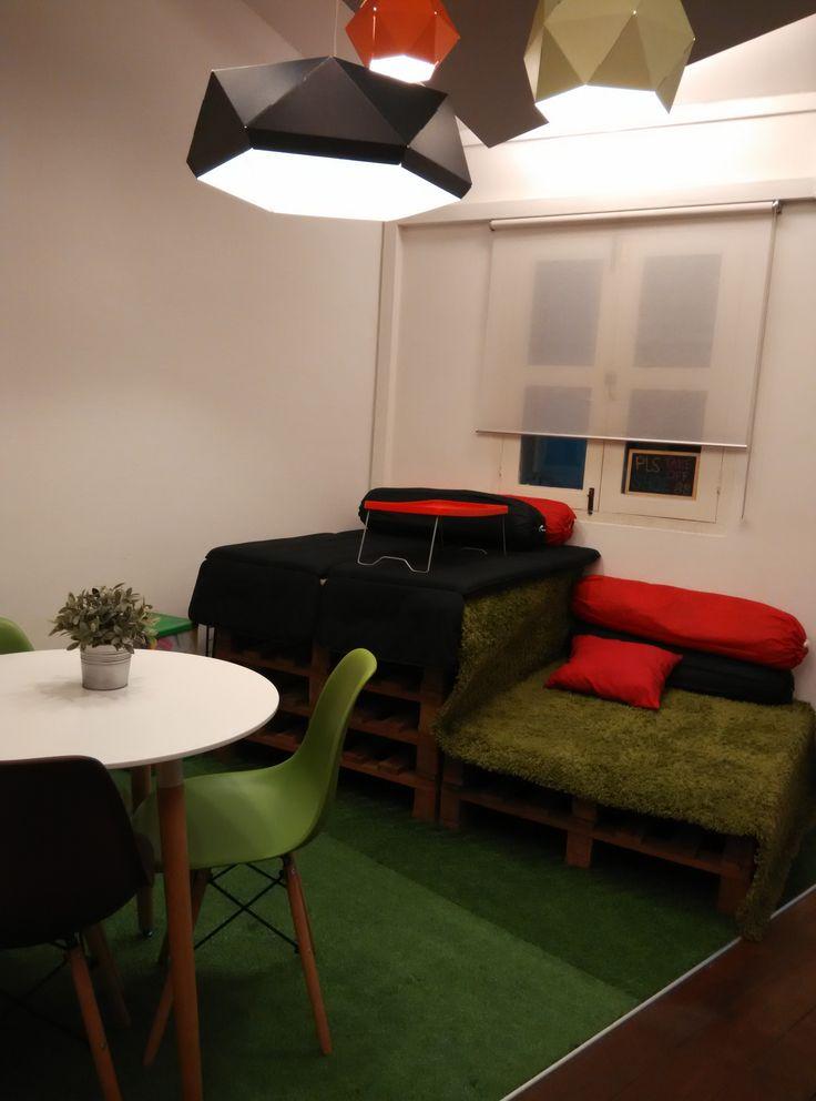 Zilingo office - breakout area