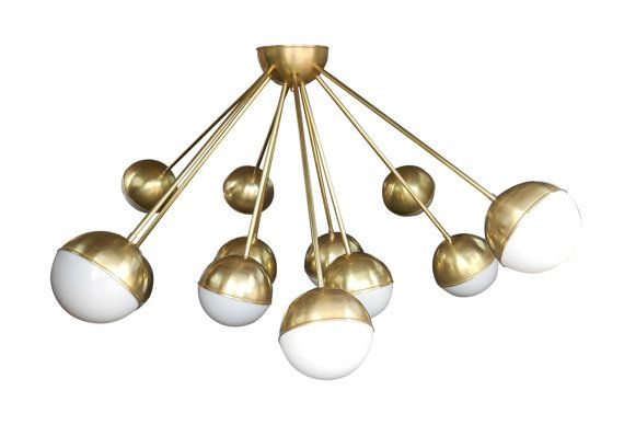 Orb Chandelier by LucentLightshop on Etsy Ceiling