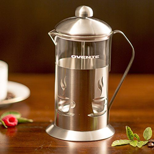 Special Offers - Ovente FSC20S 20oz Stainless Steel French Press Coffee Maker Great for Brewing Coffee and Tea 5 cup Nickel Brushed Coffee Review - In stock & Free Shipping. You can save more money! Check It (November 08 2016 at 01:12PM) >> http://coffeemachineusa.net/ovente-fsc20s-20oz-stainless-steel-french-press-coffee-maker-great-for-brewing-coffee-and-tea-5-cup-nickel-brushed-coffee-review/