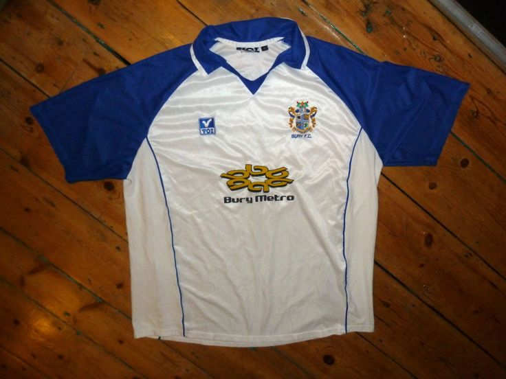 size:XL / BURY FC 2002 home shirt soccer jersey trikot camiseta maglia