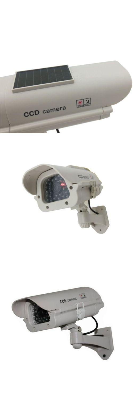 Dummy Cameras: 4X Solar Dummy Security Camera Fake Flashing Light Ir Led Home Cctv Surveillance -> BUY IT NOW ONLY: $56.99 on eBay!