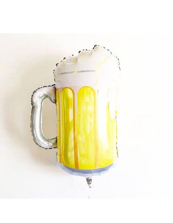 Beer Balloon, St Patricks Day Beer, Beer Mug, Beer Party Theme, Cheers and Beers, Beer Decoration, Cinco De Mayo, Beer Birthday Party, Beer