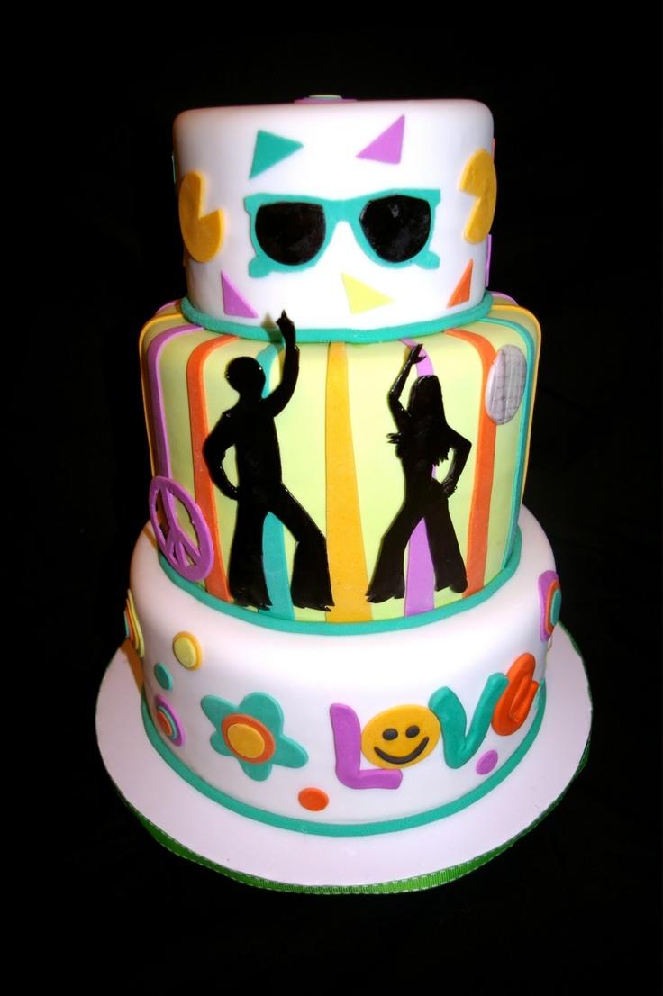 60 S Cake Cakes Cake Cupcake Cakes Birthday Cake