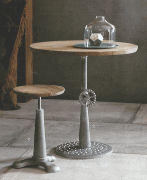 Industry Furniture   Cafe Table U0026 Stool